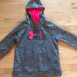 Grey Under Armour sweatshirt